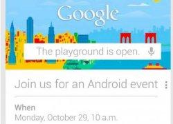 Google gửi thư mời sự kiện ngày 29 tháng 10