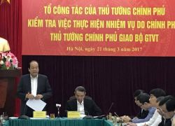 Thủ tướng: Bộ GTVT phải dừng cấp phép nạo vét đường thủy