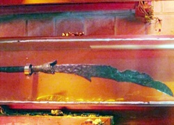 Võ trạng nguyên nổi tiếng lịch sử Việt và cây đại đao nặng hơn 30 kg