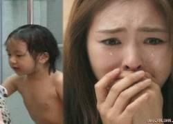 1 lần tắm cho con gái 9 tuổi chồng mới hiểu vì sao vợ không chịu đẻ thêm
