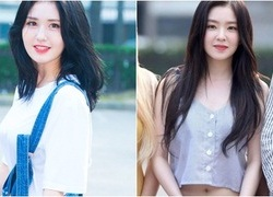 Dàn girl crush Kpop khoe dáng khi đến Music Bank