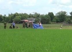 Long An: Kinh hoàng phát hiện hai cháu bé tử vong dưới ruộng lúa