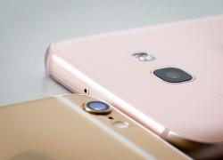 Smartphone Apple, Samsung đua giảm giá
