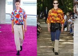 Váy, sơ mi Hawaii dẫn đầu xu hướng Xuân Hè 2018 cho nam giới