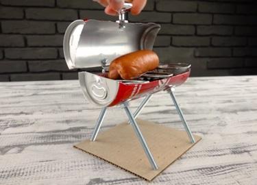 Cách làm lò nướng BBQ bằng vỏ lon Coca
