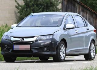 Honda City hybrid đang được thử nghiệm