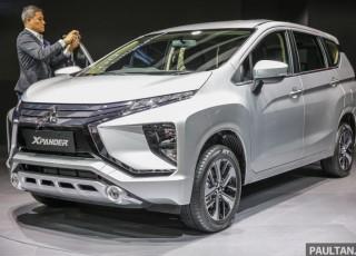 Mitsubishi ra mắt xe gia đình 7 chỗ Xpander