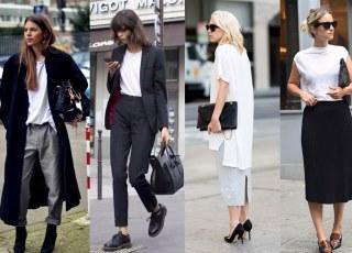 Đẹp bất chấp tuổi tác, vóc dáng nhờ 4 cách mix áo thun trắng đơn giản