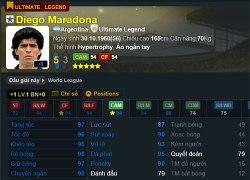 Maradona Ultimate Legend: thiên tài lắm tật trong FIFA Online 3