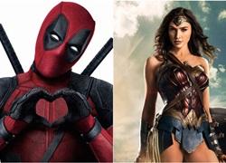 'Wonder Woman' chính thức vượt mặt 'Deadpool' trên phòng vé toàn cầu
