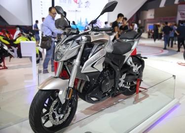 Hãng xe Trung Quốc ra mắt xe 'nhái' Honda CB500F