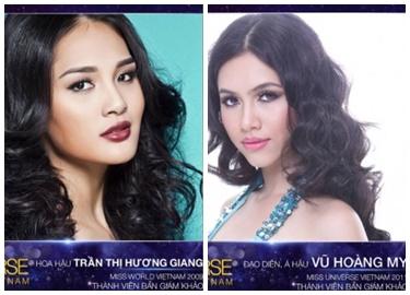 Lộ diện hai giám khảo xinh đẹp của Hoa hậu Hoàn vũ Việt Nam 2017