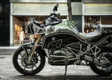 BMW R 1200 GS bản độ hoàn hảo cho dân mê phượt