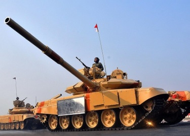Ấn Độ phát triển tăng tác chiến ở độ cao 3.000 m đối phó Trung Quốc