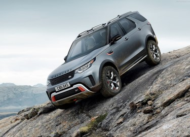 Land Rover Discovery SVX - Xế offroad hạng sang