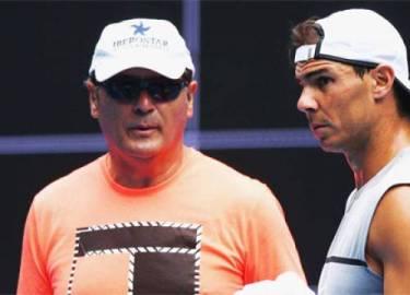 Nadal xúc động khi nói lời chia tay chú Toni