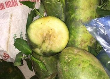 Phụ huynh vây xe đưa rau quả thối vào trường học