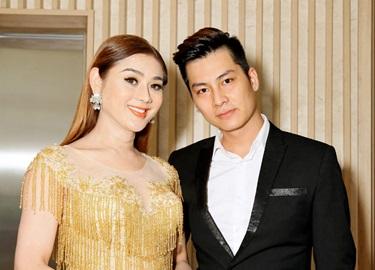 Sau 'ồn ào' với CS Phương Thanh, Lâm Khánh Chi được hôn phu đưa đi dự sự kiện