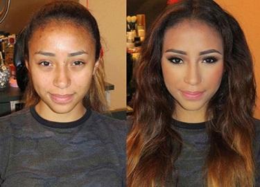 Ngỡ ngàng nhan sắc xấu xí hóa xinh đẹp nhờ sức mạnh của makeup