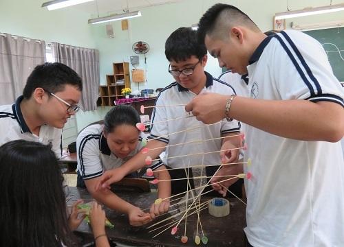 Nhiều trường THPT áp dụng tiếng Anh tích hợp STEM