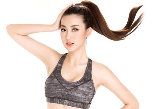 Sau Huyền My, Hoa hậu Đỗ Mỹ Linh khoe rãnh bụng sâu nóng bỏng