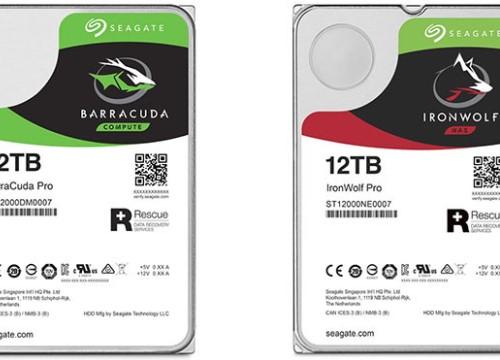 Seagate giới thiệu ổ đĩa cứng dung lượng 'khủng' 12 TB