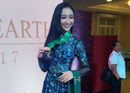 Hà Thu tiếp tục ghi điểm với giải đồng phần thi tài năng tại Hoa hậu Trái đất 2017
