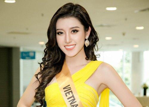 """Từ trượt top 15, Huyền My trở lại ngoạn mục dẫn đầu danh sách thí sinh được yêu thích nhất tại """"Miss Grand International 2017"""""""