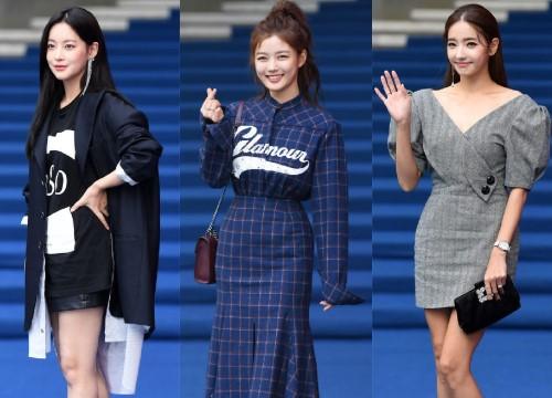 Dàn mỹ nhân Hàn khoe sắc rạng rỡ trên thảm đỏ
