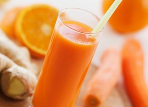 Những lợi ích tuyệt vời của nước ép cà rốt