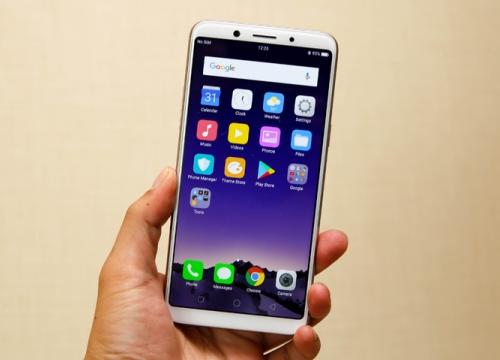 Oppo F5 về Việt Nam với giá 7 triệu đồng