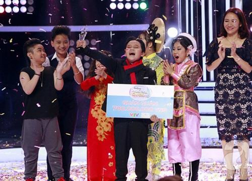 """Vượt mặt con gái Trang Nhung, """"ốc mỡ"""" Thụy Bình xuất sắc giành ngôi vị quán quân """"Gương mặt thân quen nhí 2017"""""""