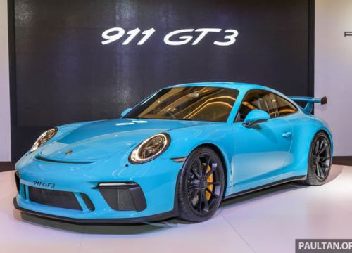 Porsche 911 GT3 đến Đông Nam Á, giá hơn 9 tỷ đồng