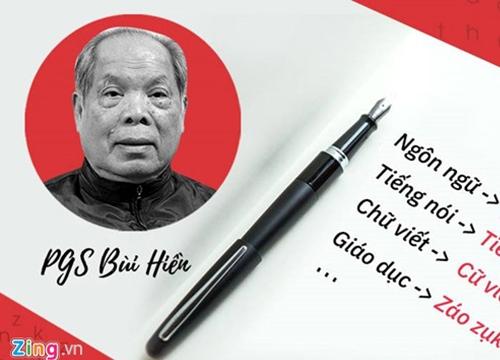 """Đến lượt chuyên gia nước ngoài nói về đề xuất cải tiến """"Tiếq Việt"""""""