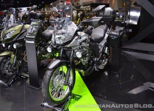 Kawasaki Versys-X 300 Camo Edition màu rằn ri cực độc