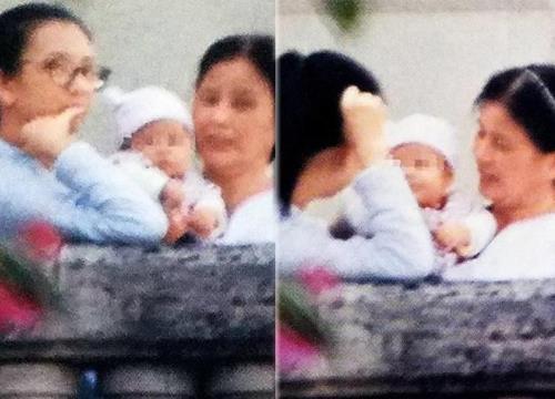 Bức ảnh con gái cưng của Quách Phú Thành lần đầu lộ diện dù mờ mịt vẫn hot không tưởng