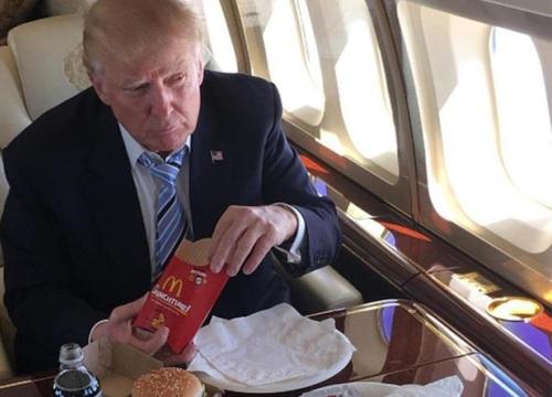Hé lộ về khẩu phần ăn đặc biệt của ông Trump