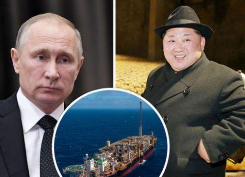 Nga bị tố ngầm bơm dầu cứu Triều Tiên