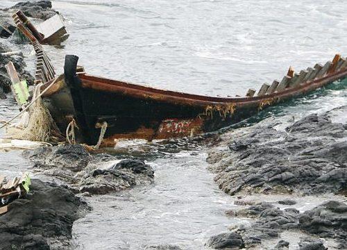 """Nhật Bản bắt ngư dân """"tàu ma"""" Triều Tiên vì phạm luật"""