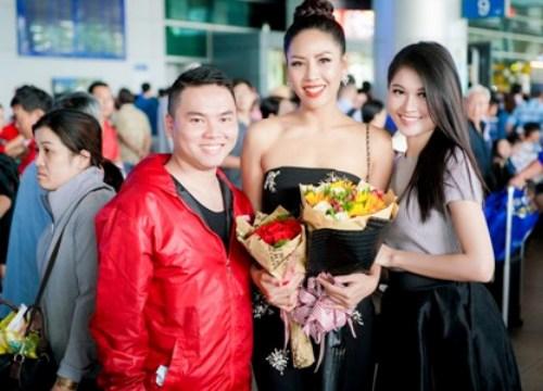 Á hậu Nguyễn Thị Loan rạng rỡ trở về nước, fan đón chào nồng nhiệt