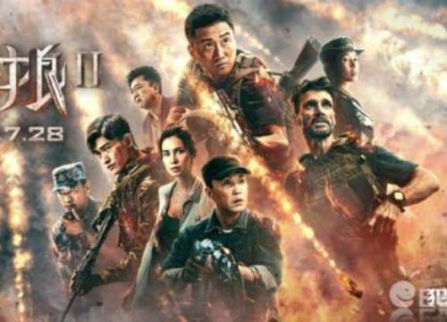 """""""Chiến lang 2"""" vượt bom tấn Hollywood, giành ngôi vương phòng vé Trung Quốc 2017"""