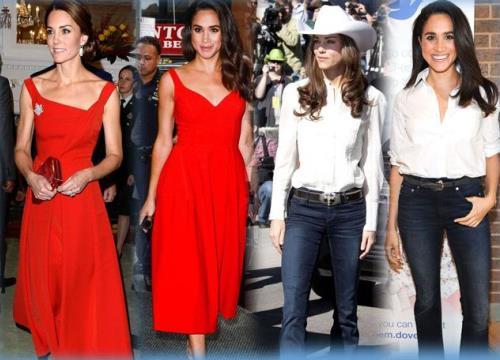 Đây có lẽ là cặp chị em dâu có sở thích thời trang đồng điệu nhất thế giới!