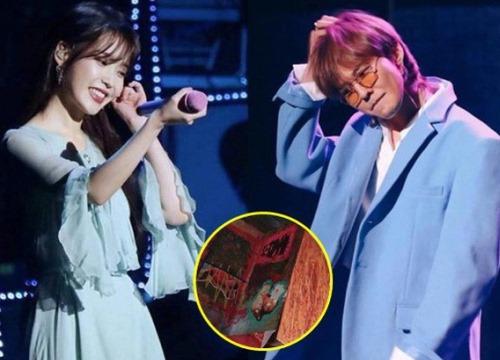 """Đến dự concert IU, G-Dragon còn mang theo quà """"đáp lễ"""" cực ý nghĩa"""