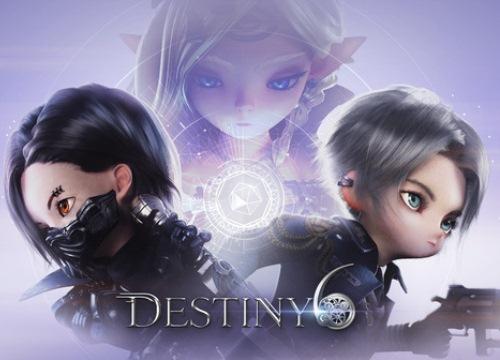 Destiny 6 - Siêu phẩm ARPG mang style hoạt hình cực chất vừa ra mắt toàn cầu