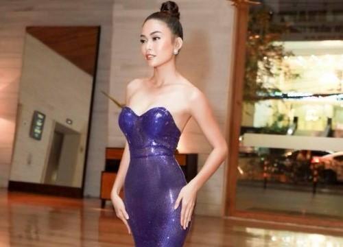 Dự báo tím violet lên ngôi vào đầu năm 2018, Mâu Thanh Thủy dẫn đầu xu hướng