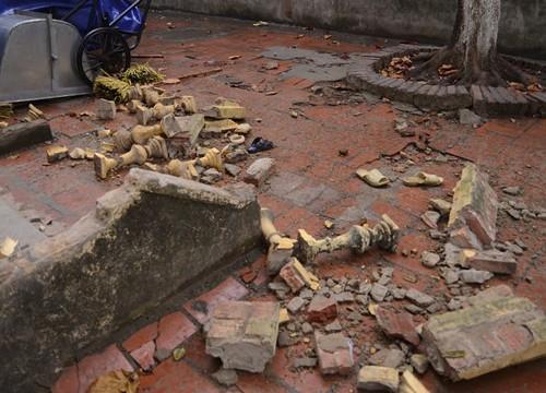 Lời kể học sinh bị ngã xuống sau khi lan can tầng 2 trường sập