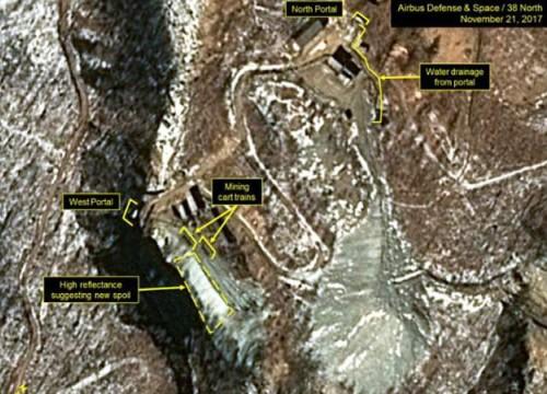 Phát hiện dấu hiệu lạ tại bãi thử hạt nhân Triều Tiên