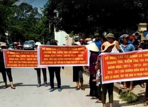 Thanh Hóa: Kỉ luật hiệu trưởng trường mầm non vì lạm thu