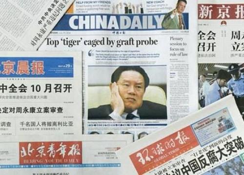 """Trung Quốc """"đả"""" nhiều """"hổ lớn"""" trong ngành dầu khí, hàng loạt tham quan """"ngã ngựa"""""""