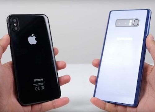 iPhone X khiến điện thoại Samsung bán chậm
